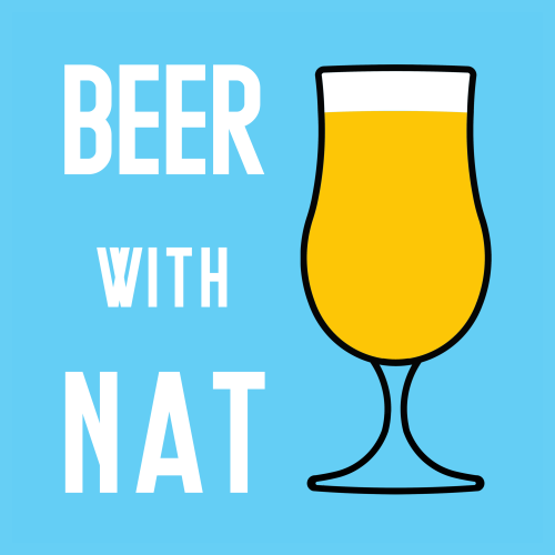 Beer with Nat logo