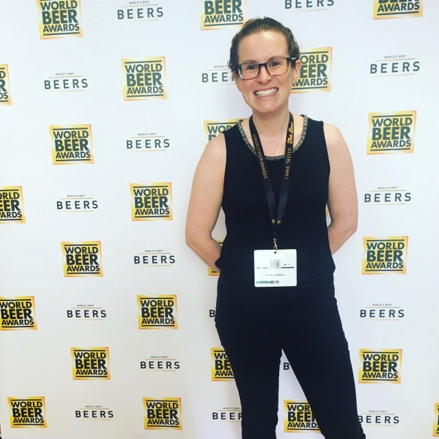 Natalya Watson Beer Sommelier Judge at World Beer Awards