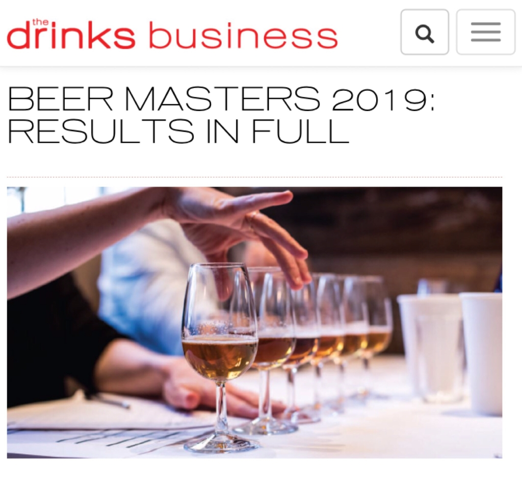 Drinks Business Beer Masters Natalya Watson judge